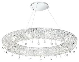 chandeliers wide crystal chandelier 1 4 bronze