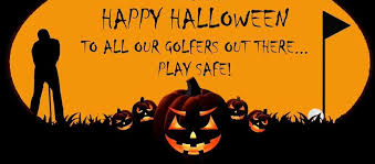 Image result for happy halloween golf