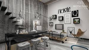 Industrial Living Room Design 2 Industrial Apartment Interior Design That Will Inspiring You