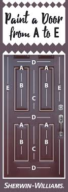 How To how to paint a door with a roller images : Looking for the best way to paint a beveled door? It's easy! Start ...
