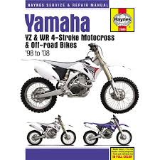 haynes dirt bike manual yamaha yz wr 4 stroke motocross off haynes dirt bike manual yamaha yz wr 4 stroke motocross off road bikes