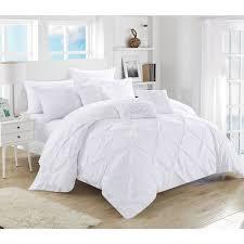 brilliant white bed comforters pure white hotel home textile 100 cotton white bedding sets queen prepare