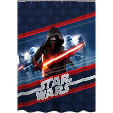 gallery pictures for large image for star wars shower curtain