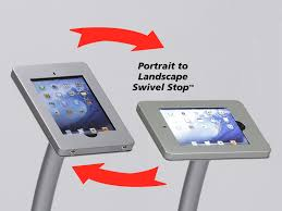 Corporate Display Stands Impressive IPad And Surface Stands Classic Exhibits