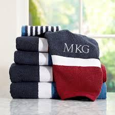 Color Block Bath Towels PBteen