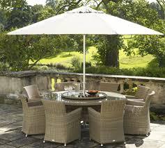 image of durable patio furniture with umbrella
