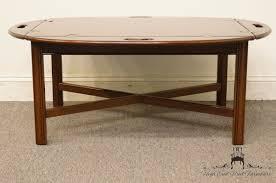 ethan allen georgian court butler s coffee table 11 8009 225 vintage finish