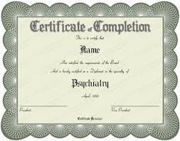 Certificate Of Completion Templates Medical Award Certificate Template Certificate Of