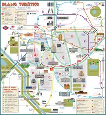 map of madrid tourist attractions sightseeing  tourist tour