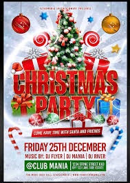 Christmas Party Flyer Template Psd 35 Best Psd Event Flyer Templates