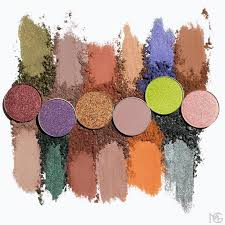swatches of new makeup geek fall signature eyeshadows