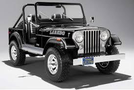 Mcg18108118 1976 Jeep Cj 7 ラレド Black ジープ