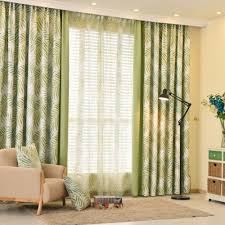 Patterned Curtains Living Room Bedroom Curtains