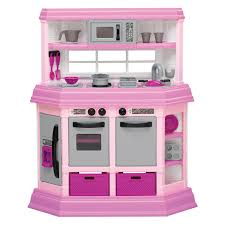 Pink Kitchen Kidkraft Pink Vintage Kitchen 53179 Play Kitchens At Hayneedle
