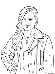 Celebrity Coloring Pages Famous People Free Books 15262046