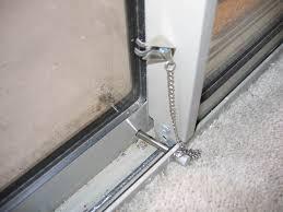 installing sliding glass door lock bar rooms decor and ideas
