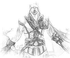 Assassins Creed 4 Coloring Pages
