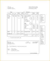 Payroll Pay Stub Template Simple Pay Stub Template Excel Free