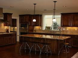 What Color To Paint Kitchen With Dark Cabinets Unique Decorating Design
