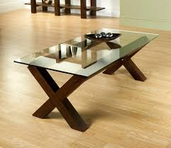 wood base glass top coffee table coffee table i would build the base but give it