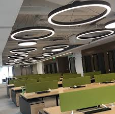 office hanging lights. Modern Office LED Pendant Lights Circle Round Suspension Hanging Lamp