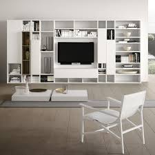 modular system furniture. Spazioteca SP014, Modular System For The Modern Living Room, In Wood Furniture A