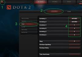 how can you hotkey items in dota 2 arqade