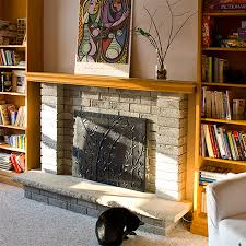 diy fireplace screen. How To Make A Simple Diy Fireplace Fire Screen