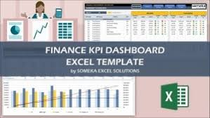 Financial Template For Excel Kpi Dashboard Excel Templates Easy Downloads Eloquens