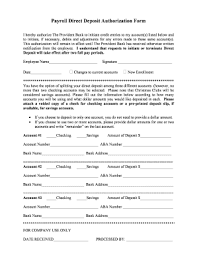 Direct Deposit Sheet Direct Deposit Forms For Provident Bank Fill Out And Sign