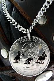 team roper western cut coin by namecoins on etsy 29 99