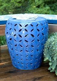 ceramic garden stools large lattice blue ceramic garden stool ceramic garden stools melbourne