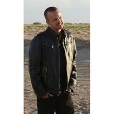 breaking bad aaron paul black leather jacket s jackets