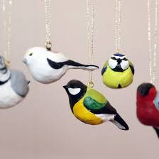 decorate your house for spring with these tiny birds made from air drying clay swedish