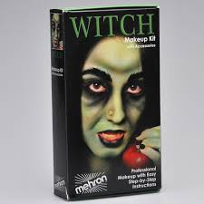 character makeup kit witch
