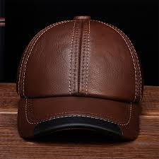 aorice real men s baseball cap genuine leather hat