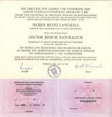 doktor и кандидат наук в Германии phd в России Диплом доктора философии и кандидата наук