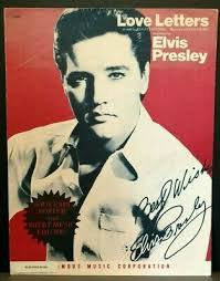 On this page you will find an easy piano sheet music for the melody of the song this little light of mine. the letters are also colour coded according to the pitch of the note in the song. Love Letters Elvis Presley Sheet Music Piano Vocal F2t Ebay