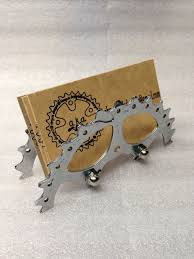 business card holder up cycled bike gear
