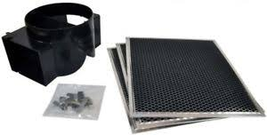 image is loading whirlpool kitchenaid wall range hood recirculation charcoal filter
