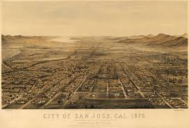 Последние твиты от san jose earthquakes (@quakesmatchday). San Jose California Usa Ca 1875 Before The Great Earthquake Of 1906 San Jose California Birds Eye View Map Vintage Map