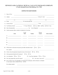 Small Business Questionnaire Small Business Subcontracting Plan Questionnaire Form Fill Out And