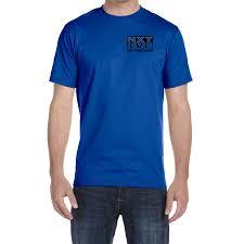 Gildan G8000 Color Chart Mens Gildan Dryblend 50 50 T Shirt Left Chest 3 Color Black Logo From Nxtlvl Volleyball Club