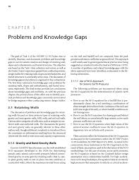 Small Picture Chapter 3 Problems and Knowledge Gaps Seismic Analysis and
