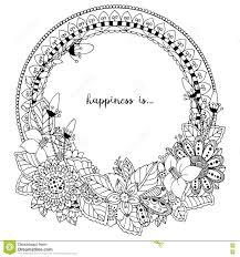 15 Coloriage Mandala Fleur Rond