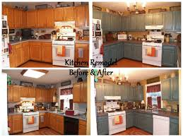 Kitchen Remodel Before And After Before After Kitchen Remodel Slate Tile Countertops With Pewter