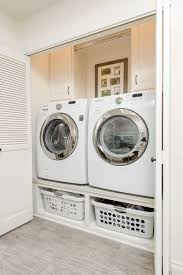 washer and dryer space requirements. Exellent Requirements Small Closet Laundry Room With Sidebyside Washer And Dryer With Washer And Dryer Space Requirements W