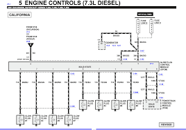 i have a 2001 ford excursion 7 3 l diesel enclosed is the glow plug diagram be sure tyo have a close look at the under valve cover harness connector as they are known to melt out and cause the type