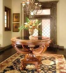 foyer tables for half round entry table circular foyer table foyer round table half foyer