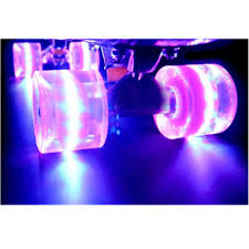 Light Up Longboard Wheels Us 15 75 37 Off 1set 4 Pcs 60x45mm Cuiser Led Light Up Skateboard Wheels Blank Pro Fits 22 Inch Skate Fish Board Longboard In Skate Board From